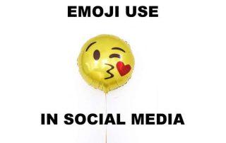Emoji usage in Social Media
